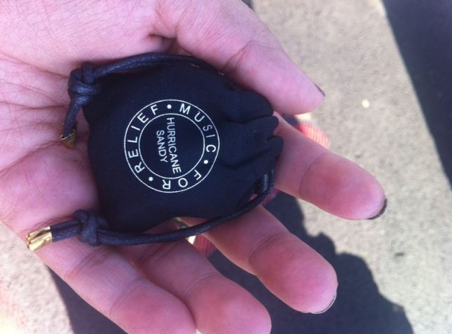 Hurricane Sandy bracelet